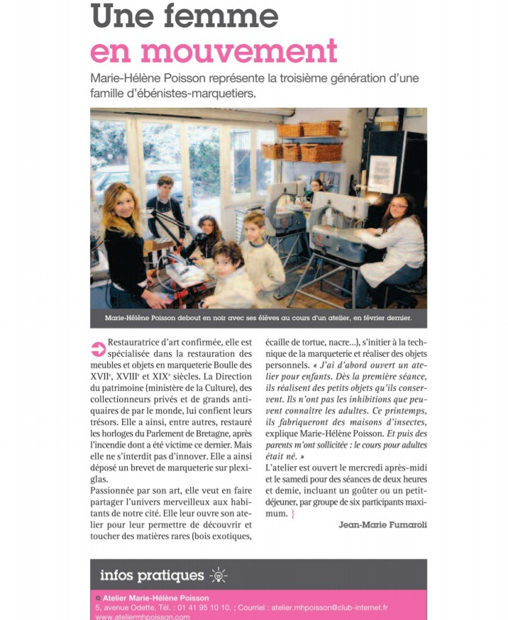 Article Fontenay-sous-Bois Mars 2010
