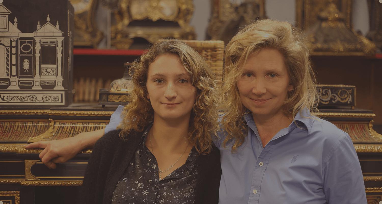 Marie-Hélène Poisson et Aurore