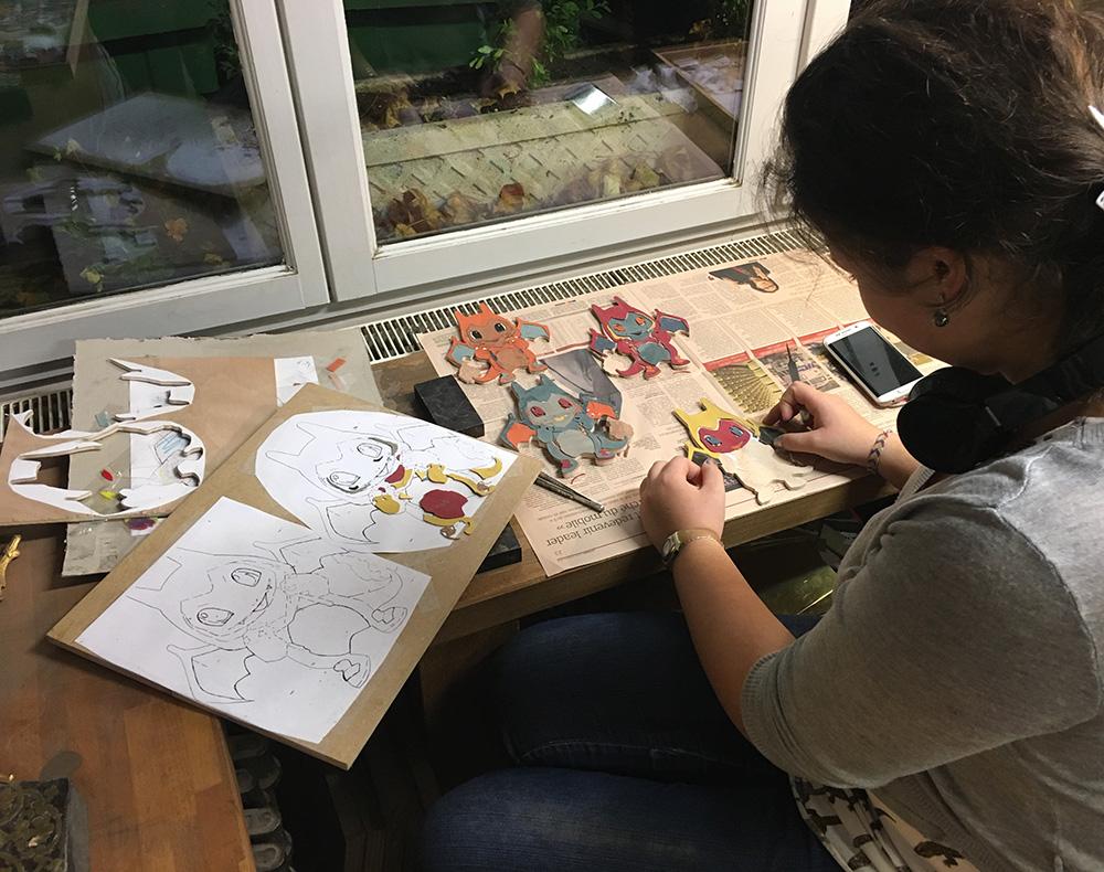 Ateliers de marqueterie Boulle à Paris - MHP