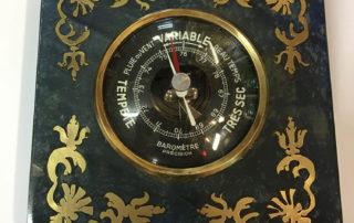 Réalisation cours marqueterie - Baromètre