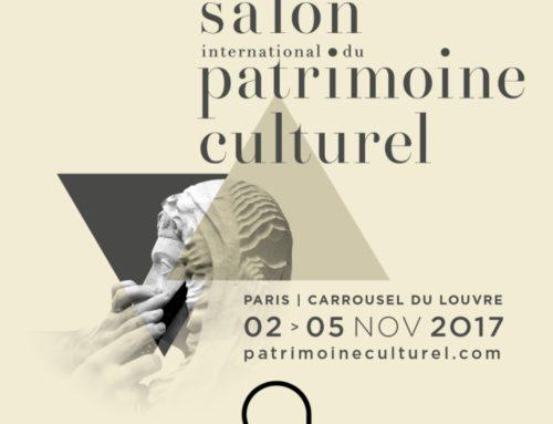 Participation au Salon du Patrimoine Culturel en Novembre