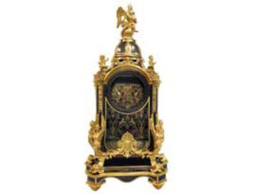Restauration d'une pendule d'époque Louis XIV