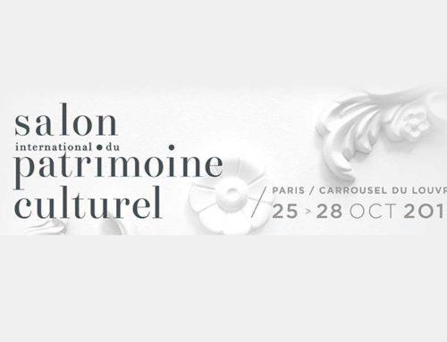 Retrouvez-moi au Salon du Patrimoine du 25 au 28 octobre